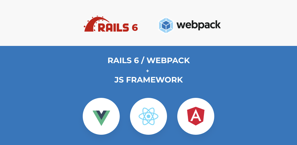 How to use Rails 6 webpack with front-end JS framework